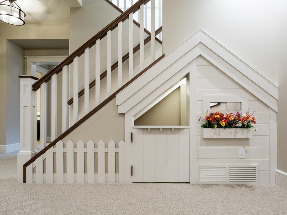 12 Creative Ways To Use The Space Under Your Stairs